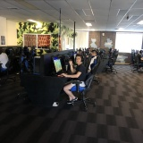 What Gaming Lounge Is Complete Without Some Customers?