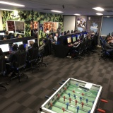 Gaming Lounges Can Sometimes Get Pretty Busy!